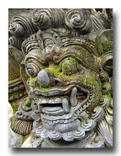 Balinese Statue - Photo Copyright Jeff Mullins 2010
