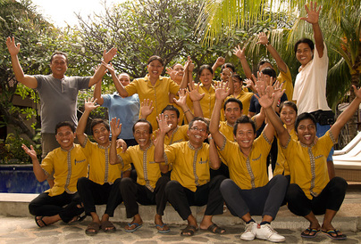 Liberty Dive Resort - Resort Staff