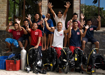 Liberty Dive Resort - Dive Staff